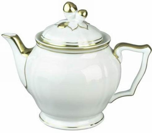 Polka Gold Tea Pot collection with 1 products