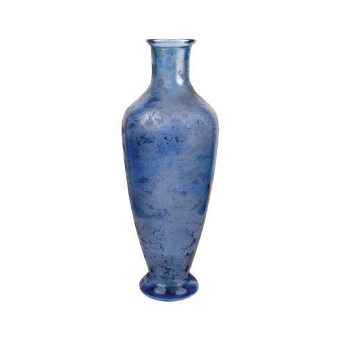$120.00 Adura Textured Vase-Marina Blue