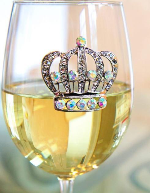 Crown Wine Glass