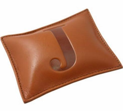 $44.00 Initial Leather Paperweight-V