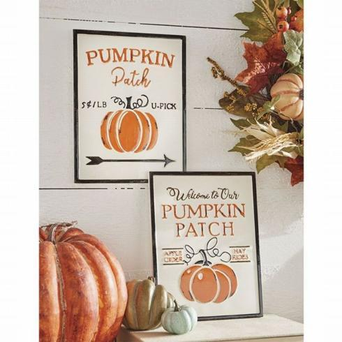 Pumpkin Patch Wall Art collection with 1 products