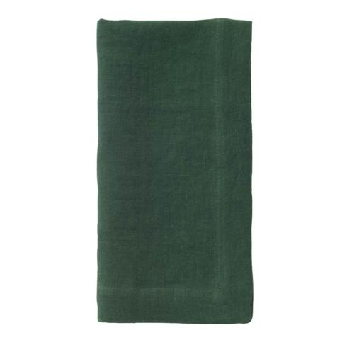 Pieces of Eight Exclusives   Riviera Napkin-Forest Green $18.95