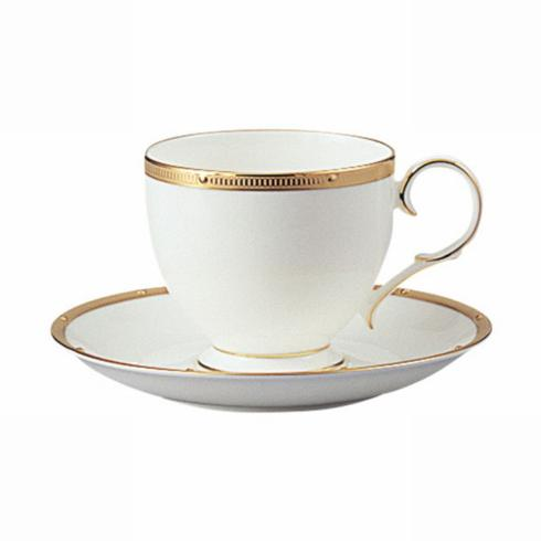 $41.00 Rochelle Gold Cup & Saucer
