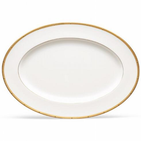 Rochelle Gold Medium Platter collection with 1 products