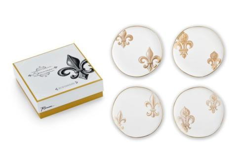 Fleur de Lis Plates-Set/4 collection with 1 products
