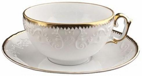 Pieces of Eight Exclusives   Simply Anna Gold Cup & Saucer $88.00