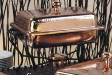 $329.00 Chafing Dish-Copper Rectangular 4 Quart