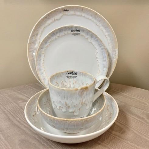 Pieces of Eight Exclusives   Taormina White 5 Piece Place Setting $107.00