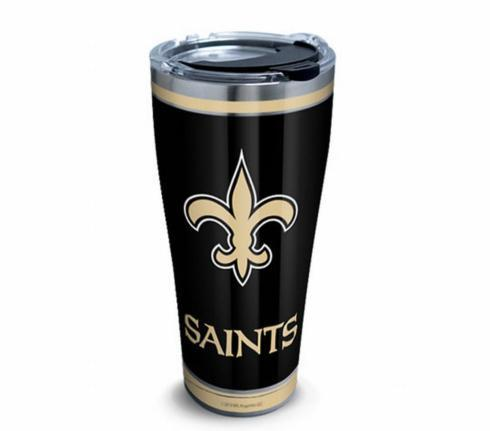 Saints Tumbler/Lid 30 oz.