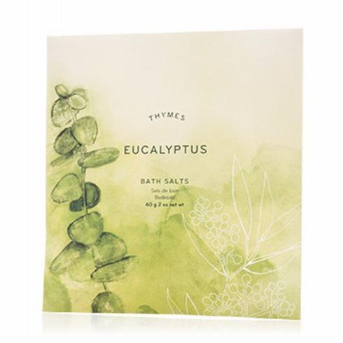 $5.50 Eucalyptys Bath Salts Envelope