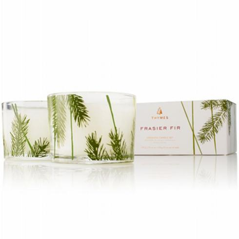 Frasier Fir Candle Set-Pine Needle collection with 1 products
