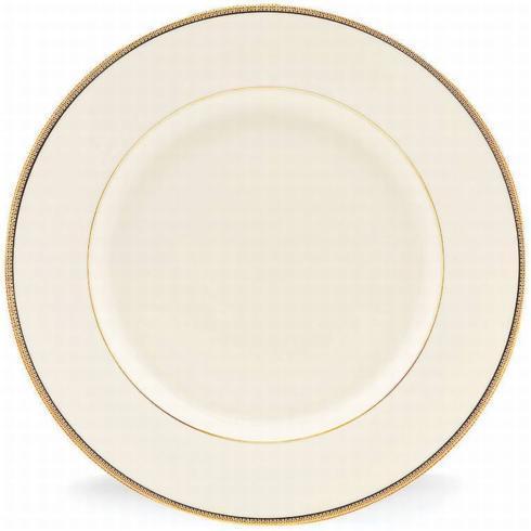 $69.99 Tuxedo Gold Dinner Plate