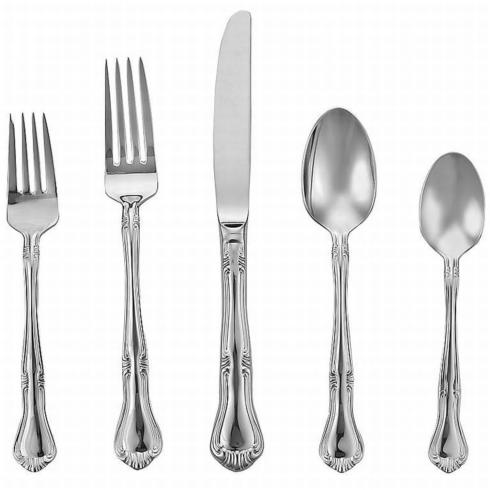 Valcourt Flatware 5 Piece Place Setting collection with 1 products