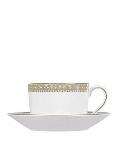 Pieces of Eight Exclusives   Vera Lace Gold Cup & Saucer $57.00
