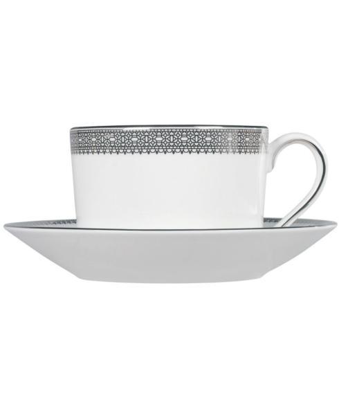 $42.99 Vera Lace Platinum Cup & Saucer