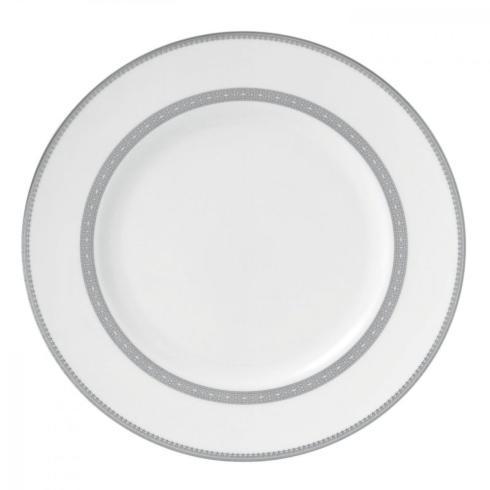 $29.99 Vera Lace Platinum Dinner Plate