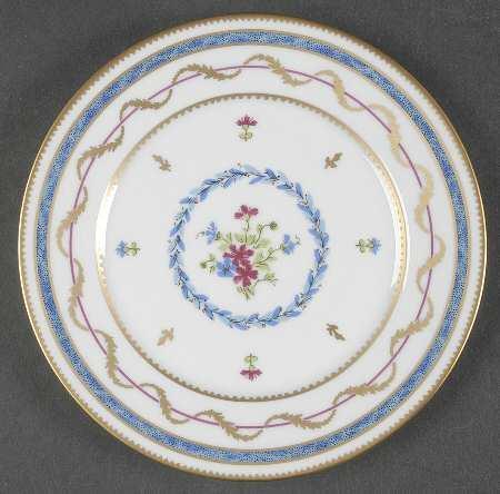 $82.00 Vieux Paris Bleu Dinner Plate-Discontinued
