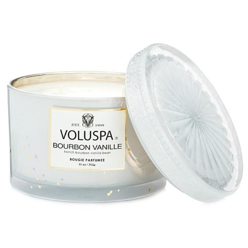 Bourbon Vanille 11oz Candle/Lid collection with 1 products