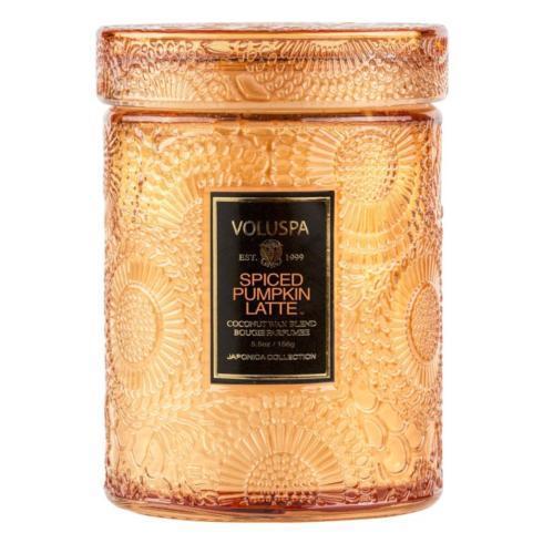 $34.00 Spiced Pumpkin Latte Large Jar Candle