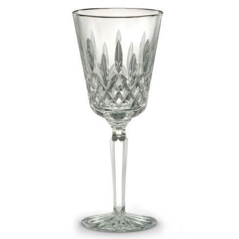 Lismore Platinum Goblet collection with 1 products
