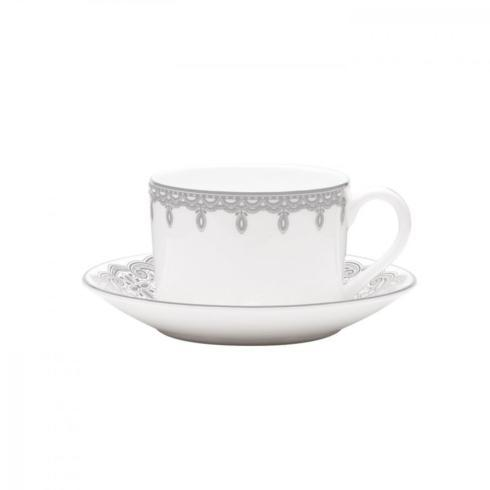 $29.99 Lismore Lace Platinum Cup & Saucer-Discontinued