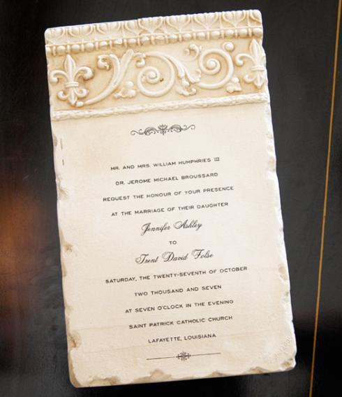 Heavenly Delights   Wedding Tile/Fleur de Lis $42.00