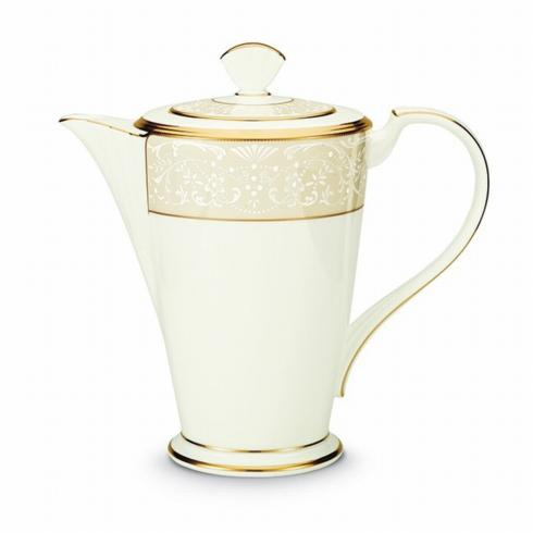 Noritake   White Palace Coffee Pot $280.00
