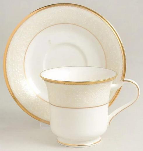Noritake   White Palace Cup & Saucer $67.00