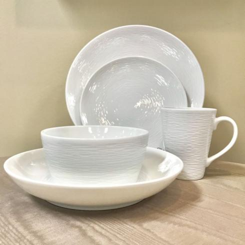 Wow Swirl White 5 Piece Place Setting collection with 1 products