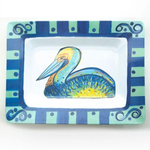 Pieces of Eight Exclusives   Pelican Tray $55.00