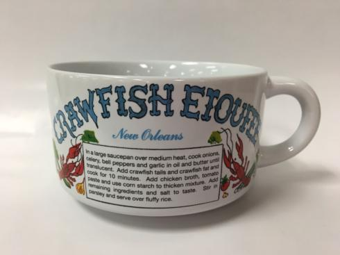 Pieces of Eight Exclusives Louisiana Favorites Gumbo Recipe Bowl-Crawfish Etouffee $15.95