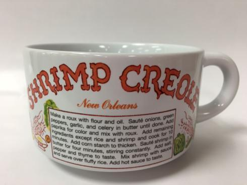 Pieces of Eight Exclusives Louisiana Favorites Gumbo Recipe Bowl-Shrimp Creole $15.95