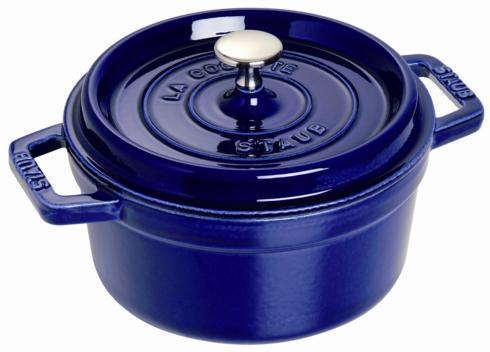 $390.00 Cocotte Round 5.5qt Dark Blue