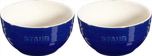 $33.00 2pc Lg Universal Bowl Set Blue