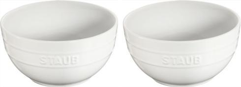$33.00 2pc Lg Universal Bowl Set-White