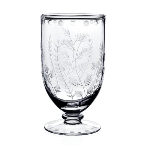 "$305.00 Fern  Flower Footed Vase 7"""