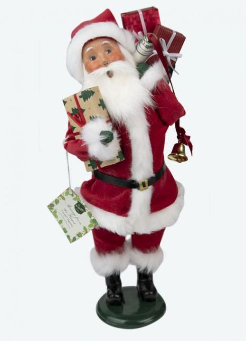 $84.00 Message Santa Caroler