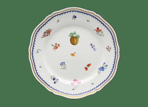 $185.00 Italian Fruit Dinner Plate