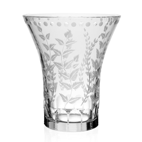 """$415.00 Fern Flower Vase 9"""""""