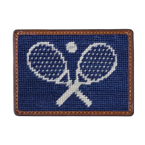 $55.00 Crossed Raquets Credit Card Wallet