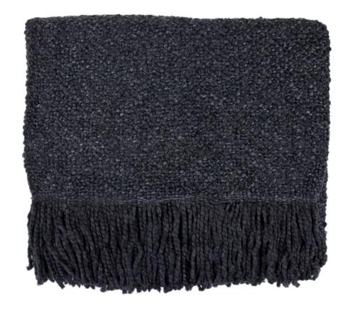 $105.00 Campbell Throw-Charcoal