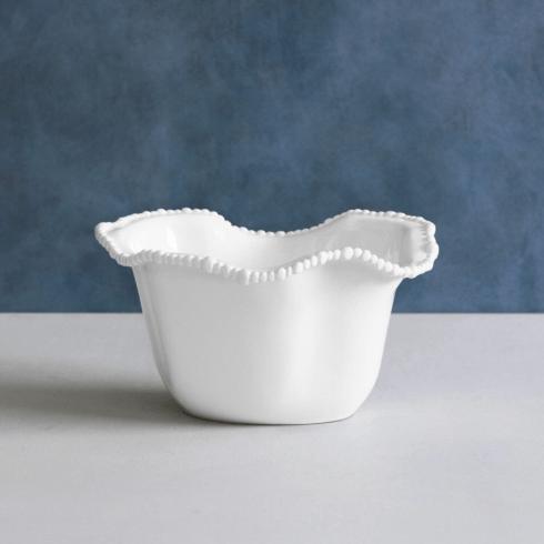 $62.00 Alegria Ice Bucket White Melamine