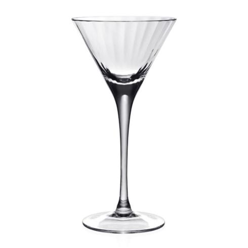 $48.00 Corinne half martini glass