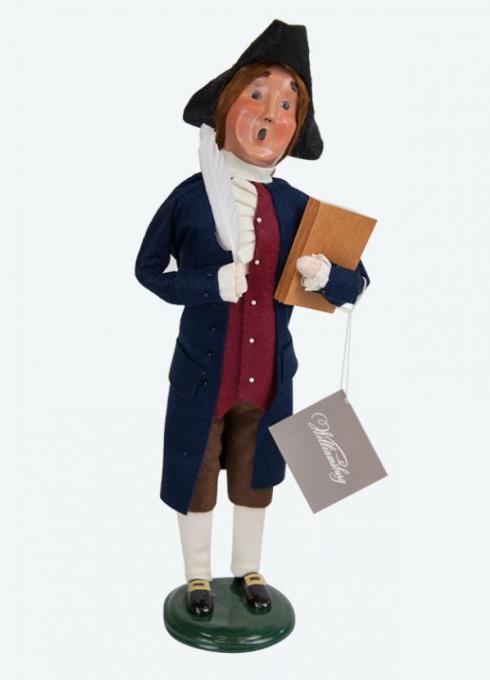 $76.00 Thomas Jefferson Caroler