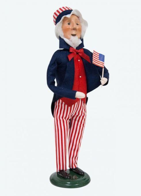$76.00 Uncle Sam Caroler