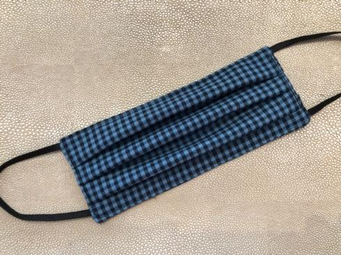 $11.00 Black and Blue Gingham