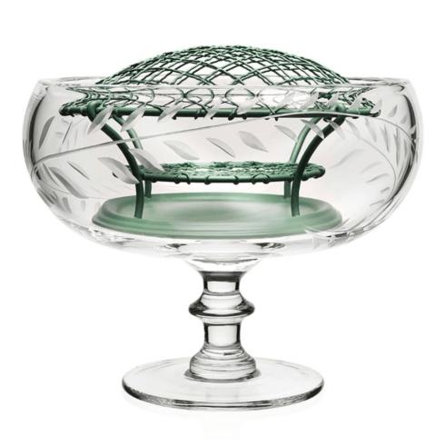 $290.00 Jasmine footed rose bowl w/frog