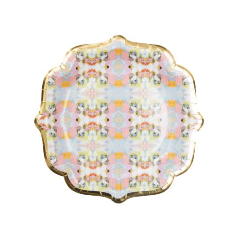 $12.00 Brooks Avenue Paper Cocktail Plates