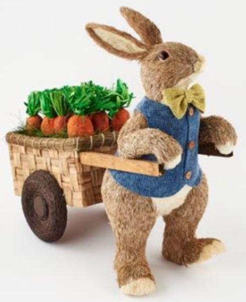 $190.00 Bunny with Cart