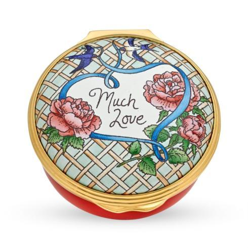 $254.00 Much Love Enamel Box
